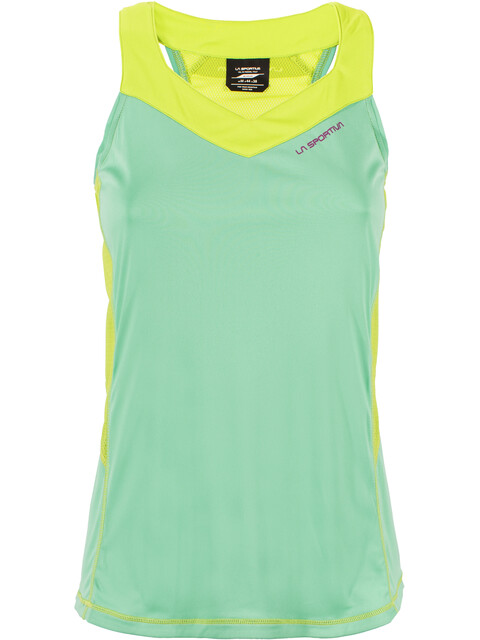 La Sportiva Joy Tank Women Jade Green/Apple Green